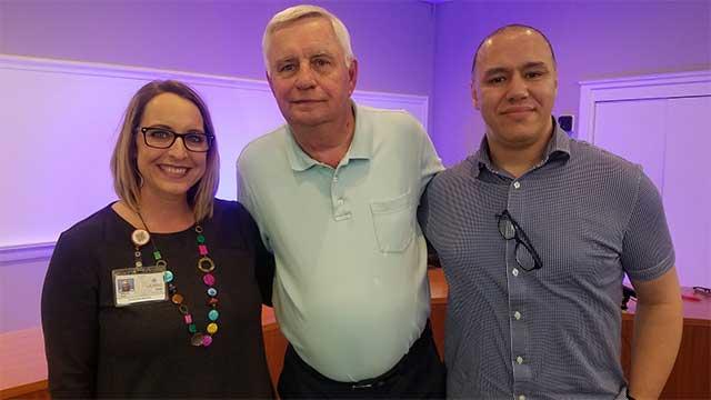 Hicham Jaddoud & Alicia Rath of del Lago Resort .::. Weber This Week 7/23/18