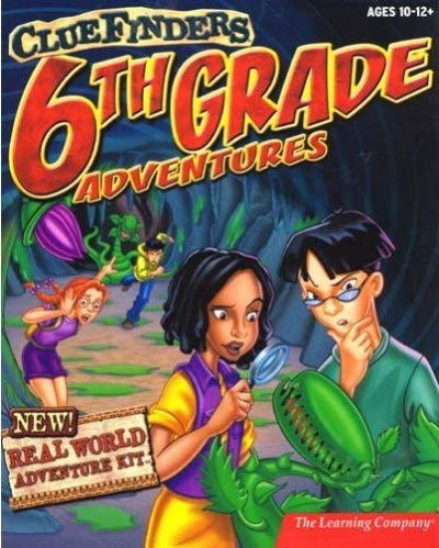 The ClueFinders 6th Grade Adventures: Empire of the Plant People (1999)