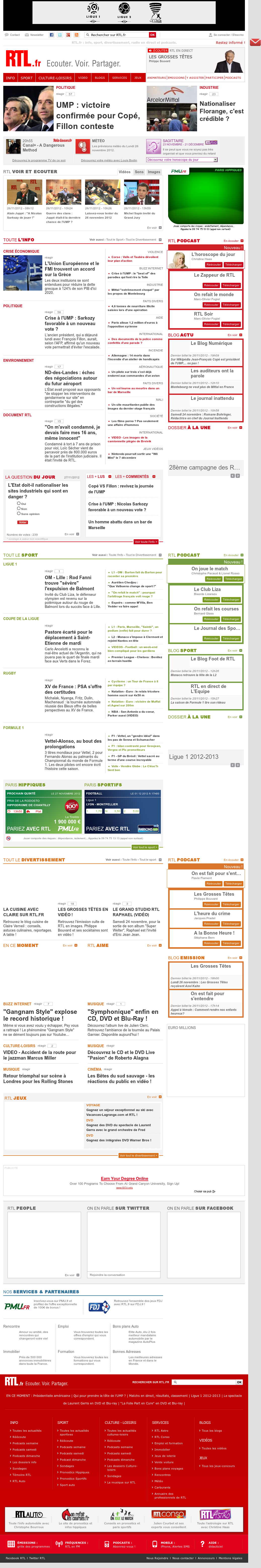 RTL at Tuesday Nov. 27, 2012, 2:29 a.m. UTC