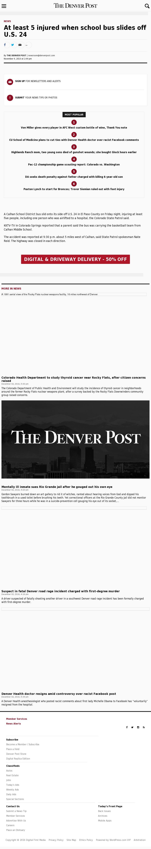 Denver Post at Saturday Dec. 3, 2016, 1:03 a.m. UTC