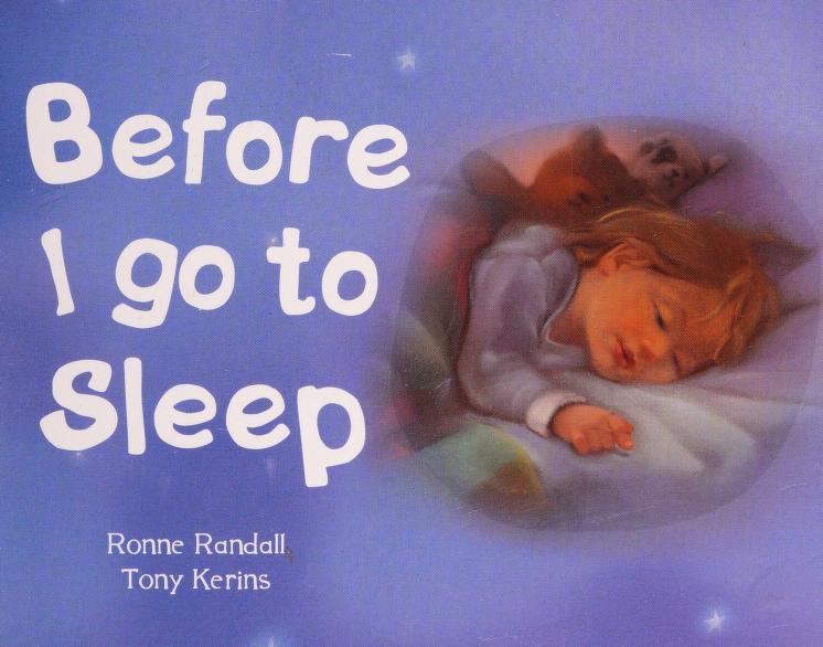 Before I go to sleep by Ronne Randall