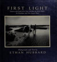 Cover of: First light | Ethan Hubbard