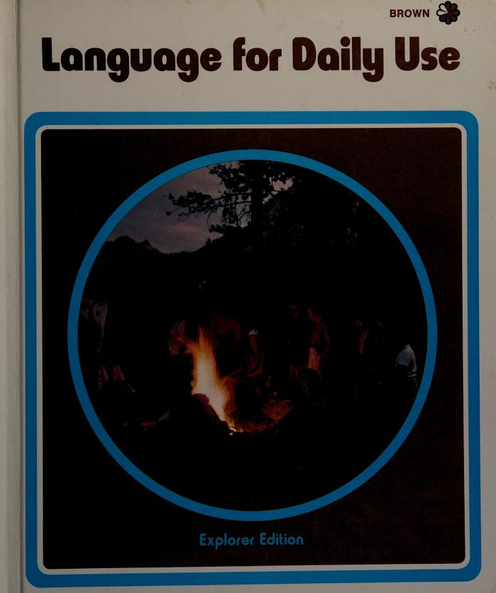 Language for daily use by Mildred Agnes Dawson